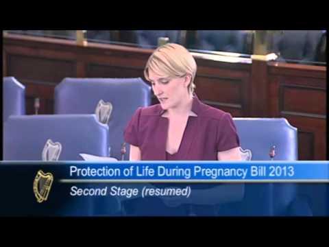 Senator Averil Power's Speech On The Protection of Life in Pregnancy Bill 16/7/13