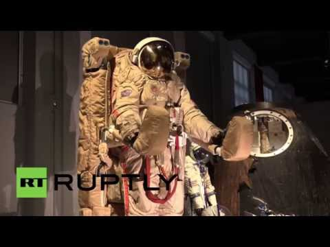 UK: First woman in space Valentina Tereshkova launches Russian space expo