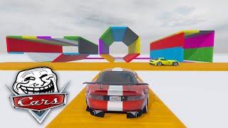 LA CARRERA TROLL DE CARS! INCREIBLE!! - GTA V ONLINE