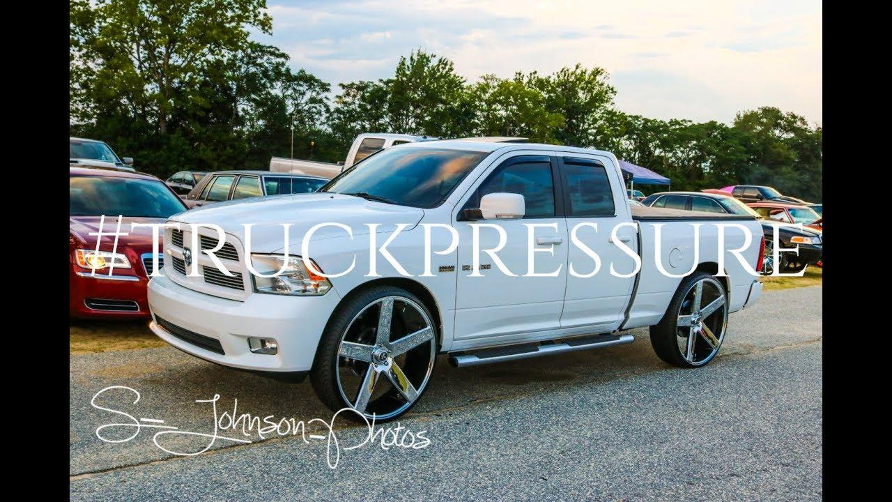 2017 Dodge Ram 1500 >> Super clean Dodge Ram 1500 on Dub Wheels in HD(stunt fest 2k17) - YouTube