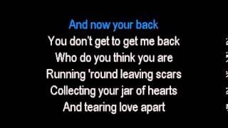 Christina Perri   Jar of Hearts   Karaoke  by tamir