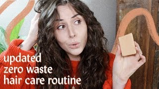 I tried 4 zero waste conditioners (& what I use now!) | updated vegan hair care routine
