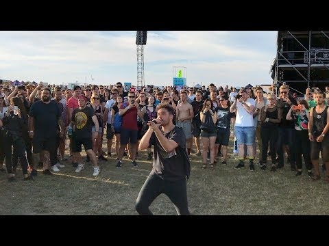 You Me At Six - Bite My Tongue - live in moshpit with Josh Franceschi @ Aerodrome Festival 2018