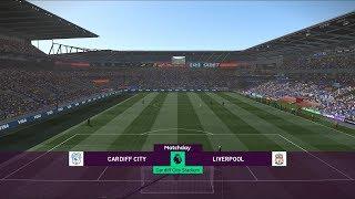 Cardiff City vs Liverpool - Cardiff City Stadium - 2018-19 Premier League - PES 2019