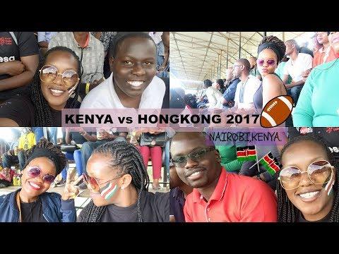 MY FIRST RUGBY MATCH  IN NAIROBI. (KENYA vs HONGKONG 2017).