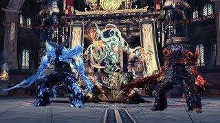 Blade & Soul - Храм лазоревых небес [боссы 1-2]