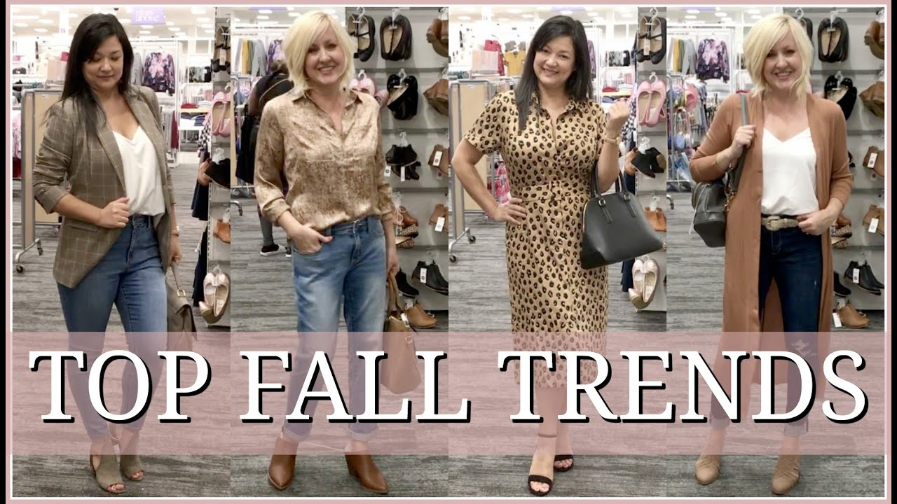 TARGET SHOP WITH US | TRY ON | FALL FASHION TRENDS 1