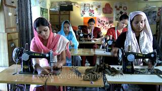 Womens' empowerment in India: Tailoring as a vocation