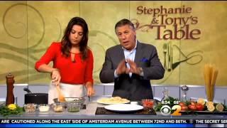Stephanie & Tony's Table: Pasta With Lemon-sage Pesto