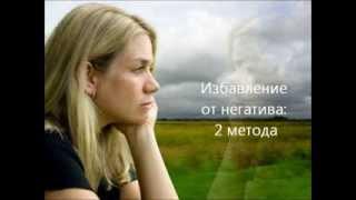 Негативные эмоции: как с ними справиться? 2 простых метода