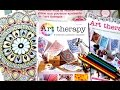 Présentation du magazine : Art Therapy, le nouveau magazine pour débutants! (Hachette)