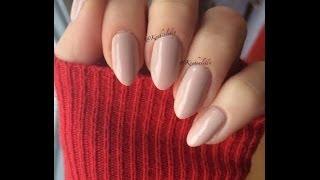 Almond/stiletto Nail Shaping