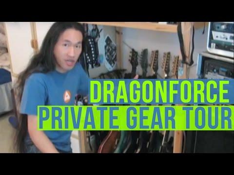 Dragonforce Home Studio Tour