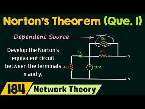 Norton's Theorem With Dependent Source