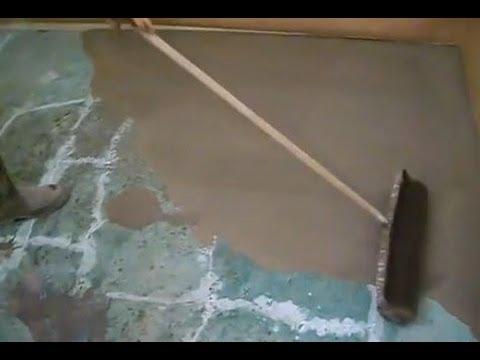 Concrete Subfloor Preparation For Laminate And Hardwood Floor