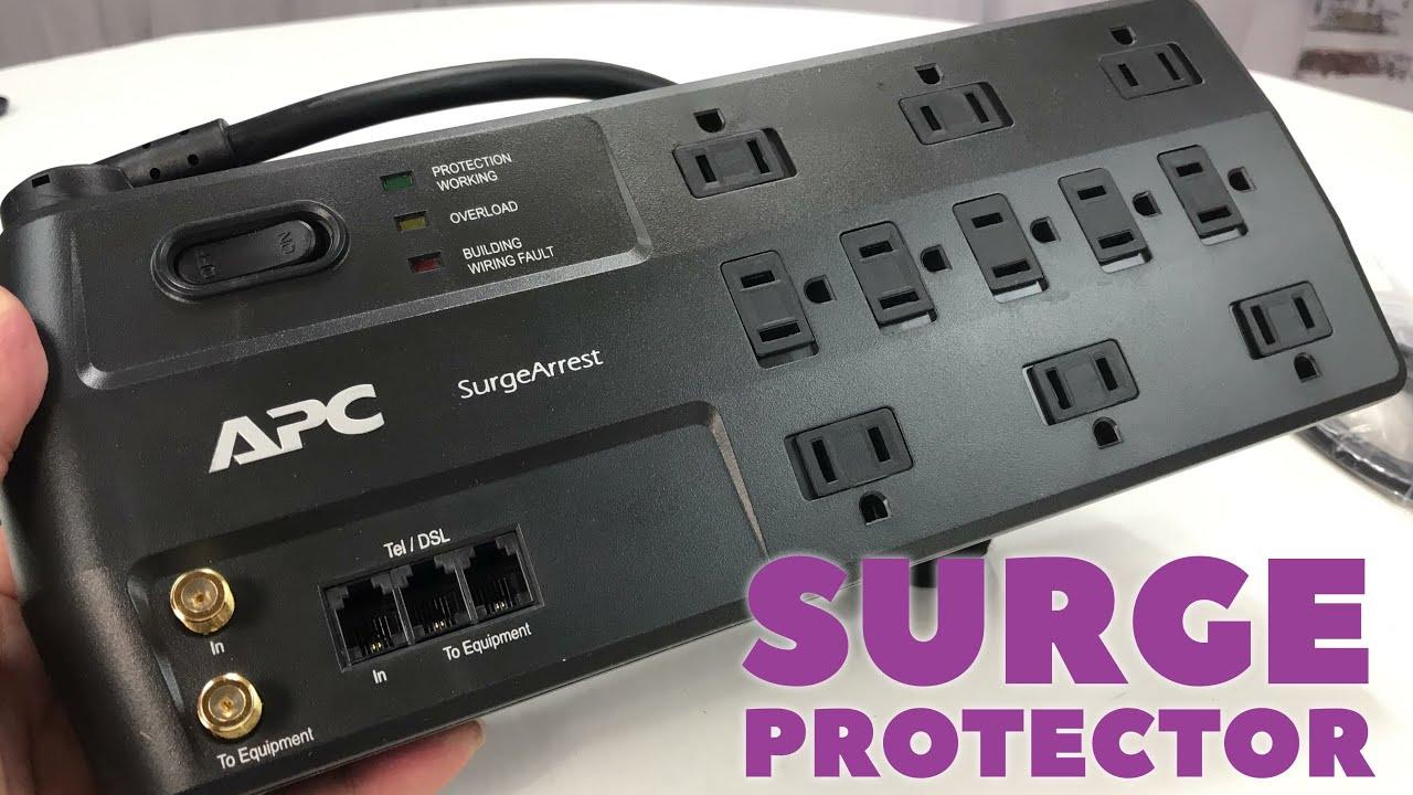 Black APC SurgeArrest 11-Outlet Surge Protector