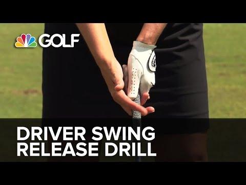 Driver Swing Release Drill - SwingFix   Golf Channel