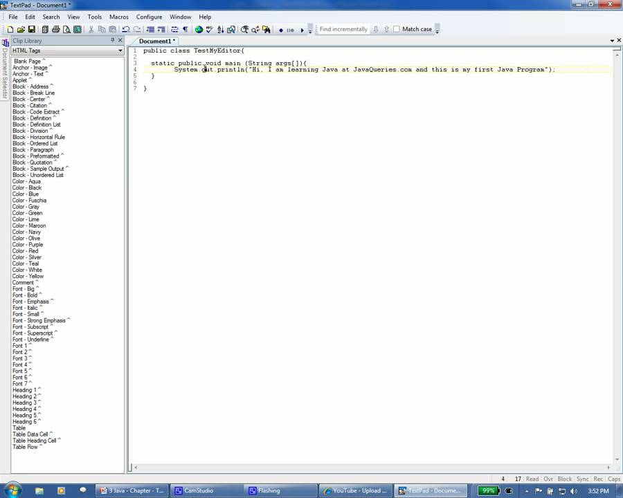 how to add java jdk to textpad