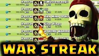 51+ War Win Streak + PERFECT WAR | Best TH9 3 Star Attack Strategy Recap | Clash of Clans