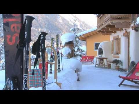 almdorf flachau im winter youtube. Black Bedroom Furniture Sets. Home Design Ideas