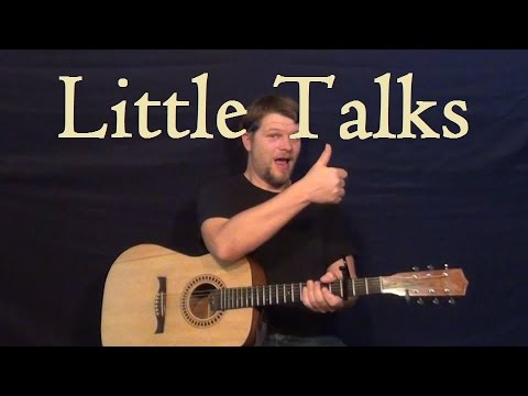Little Talks Of Monsters And Men Guitar Lesson Easy Strum Chord