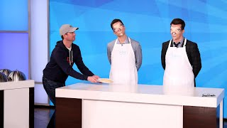 Matt Bomer and Sean Hayes Play 'Taste Buds'