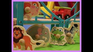 Pociąg ze zwierzętami - piosenki dla dzieci