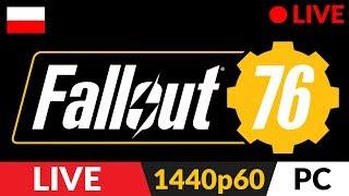 Fallout 76 PL z Arlinką ???? LIVE ⛺️ Tajniki budowania i biegania - Na żywo