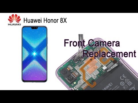 Honor 8X Front Camera Replacement - YouTube
