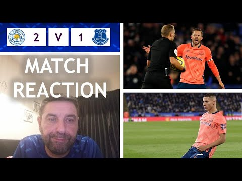 Derby Day Looms John's Match Reaction Everton 1 Leicester 2