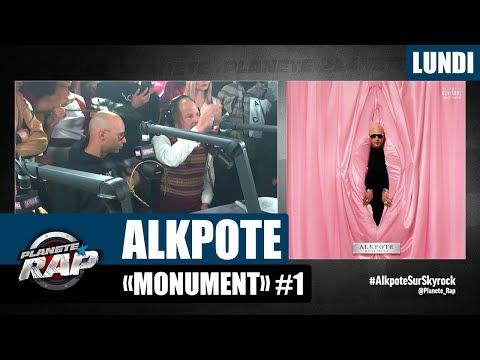 Youtube: Planète Rap – Alkpote«Monument» #Lundi