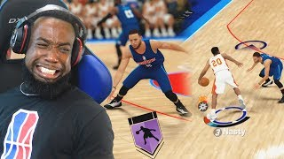I Crossed Over Stephen Curry's Ankles Twice! All-Star Game NBA 2k19 MyCareer Ending Prelude