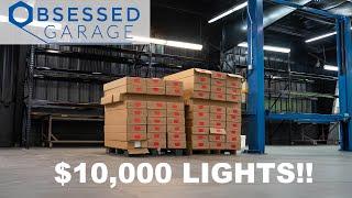 homepage tile video photo for WE SPENT $10,000 ON SHOP LIGHTS!