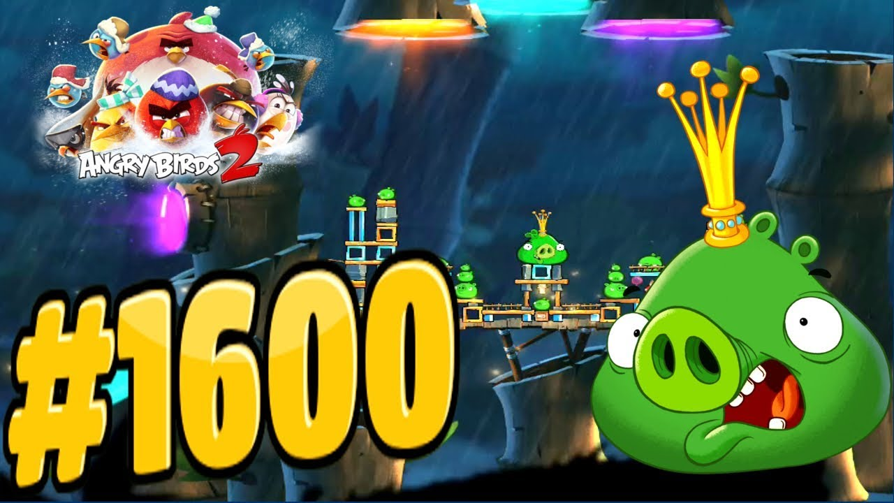 Angry birds 2 bamboo forest luxembird king pig level 1600 - Angry birds trio ...