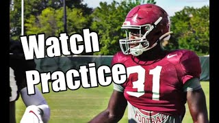 Watch Alabama football practice: William Anderson, LaBryan Ray, Dylan Moses, Evan Neal