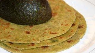 Avocado Paratha  | Show Me The Curry Vegetarian Recipes