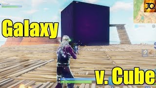Galaxy Skin vs. The Cube! - What is it? - Fortnite Battle Royale Xbox One
