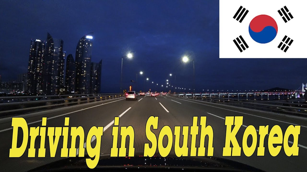 Driving in South Korea  - Roads in South Korea