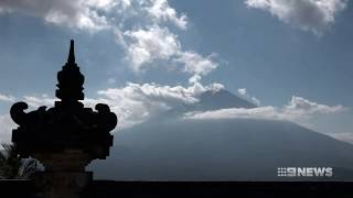 bali volcano update   9 news perth