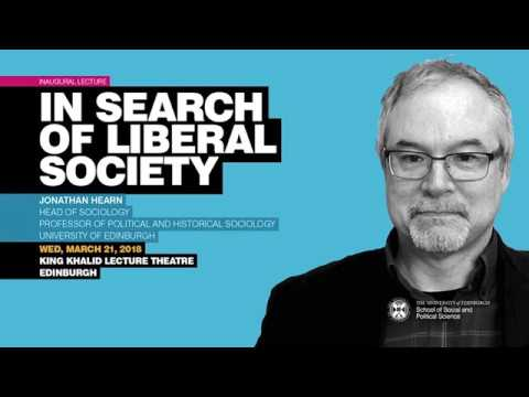 Jonathan Hearn - In Search of Liberal Society