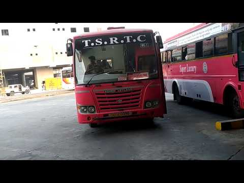 TSRTC NEW SUPER LUXURY Going To Bangalore From MGBS Hyderabad