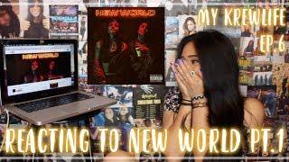 My KREWLIFE Episode 6 Reacting To NEW WORLD PT 1