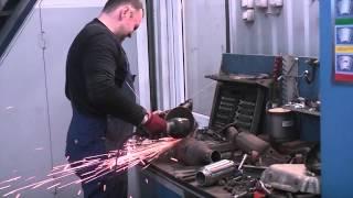 замена  катализатора и замена гофры глушителя  на Ford Mondeo(, 2013-04-02T11:14:44.000Z)
