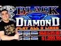 Chasing $68,000 JACKPOT On High Limit Black Diamond ! $20 Max Bet Bonus On Ultimate Fire Link Slot