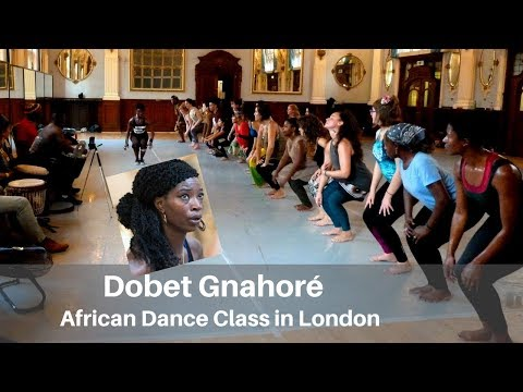 Dobet Gnahoré - African dance class in London