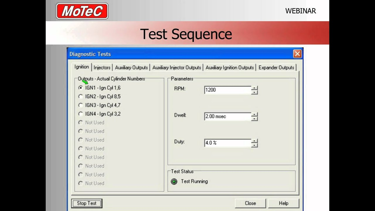 How to test ECU Outputs