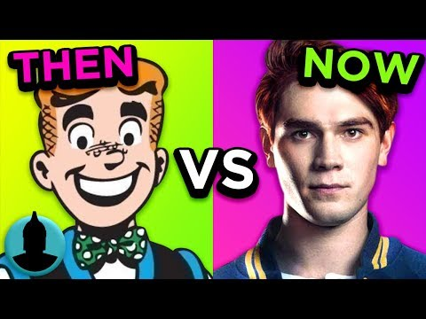 Riverdale  Then Vs Now  Evolution of Archie Comics Tooned Up S5 E45  Channel Frederator