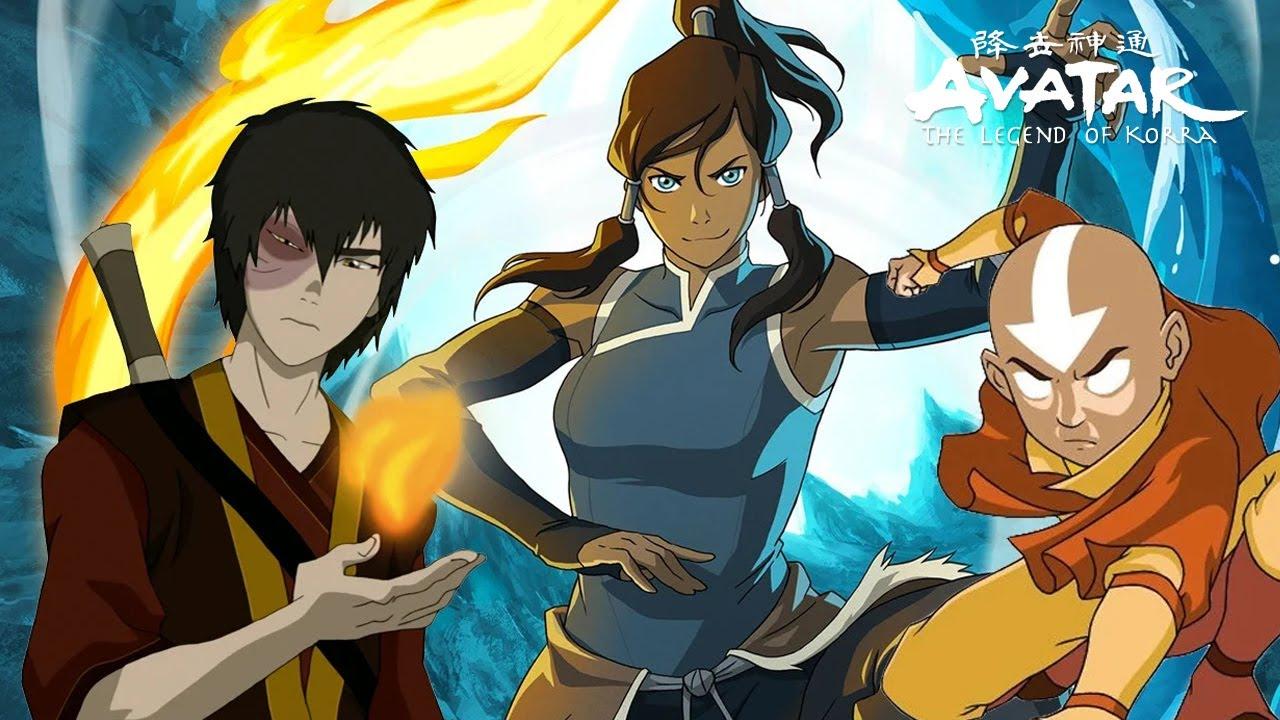 Aang Korra avatar the last airbender and korra origins explained