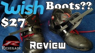 I bought Riding Boots from WISH!