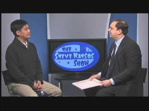 Bren Bataclan appears on The Steve Katsos Show